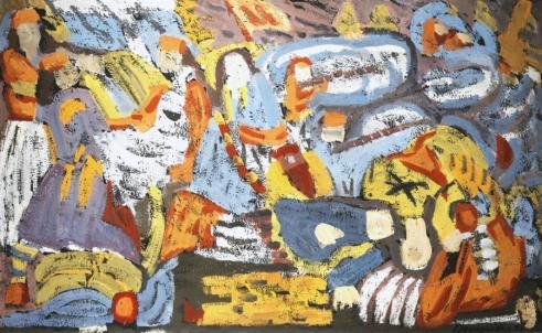 Γιώργος Μαυροΐδης, «Ο θάνατος του Μάρκου Μπότσαρη», 1961