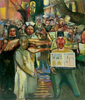 Τάσος Μισούρας - Αλβανός εφημεριδοπώλης, γερμανίδα νοσοκόμα, καλόγρια και χασάπης