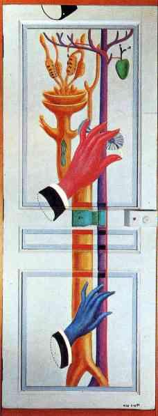 Max Ernst - Enter, Exit