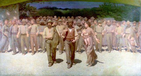 """Τζουζέπε Πελίτσα ντα Βολπέντο """"Il Quarto Stato"""" (1901),"""