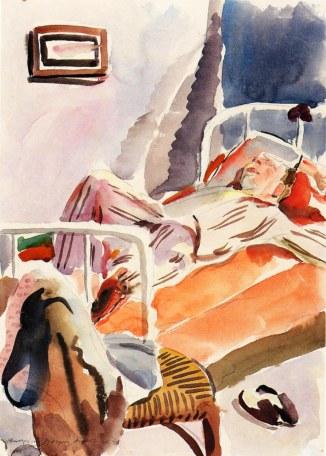 Θωμάς Φανουράκης, «Ο κοιμισμένος», 1940