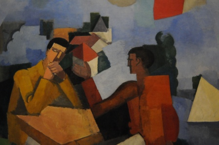 Roger de La Fresnaye - The Conquest of the Air, 1913