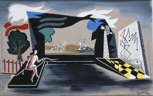 Γιώργος Βακαλό, «Άντρας με σκοινί», 1938