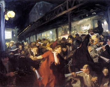 John French Sloan -Election Night