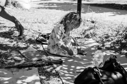Πρόσφυγες στο Πεδίον του Άρεως. (Φωτό Άγγελος Καλοδούκας. Πηγή left.gr)