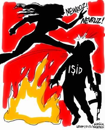 Σκίτσο του Latuff