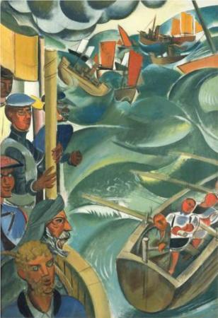 "Wyndham Lewis, ""Νέα Γη"", 1937"