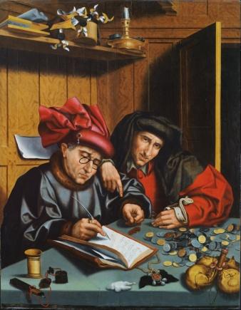 Marinus van Reymerswaele - The Money Changers