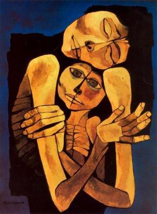Oswaldo Guayasamin - Τρυφερότητα (1989)