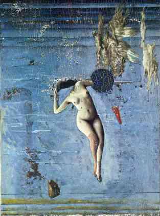 Μαξ Ερνστ, «Πλησιάζοντας την εφηβεία ή οι Πλειάδες», 1921