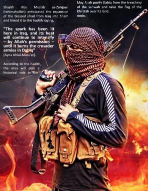 Aπό το «Dabiq», το αγγλόφωνο online προπαγανδιστικό περιοδικό του ISIS/Daesh