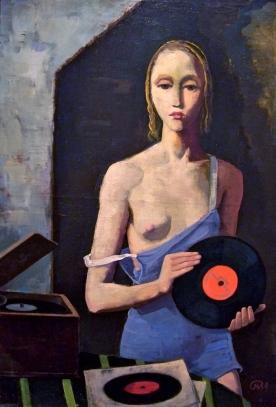 Καρλ Χόφερ, «Το κορίτσι που βάζει δίσκους στο πικάπ», 1939