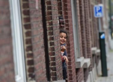 Μόλενμπεκ, 15.11.2015. Φωτογραφία: Emmanuel Dunand/AFP