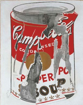 Άντυ Γουόρχολ, «Big Torn Campbell's Soup Can», 1962