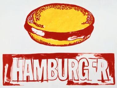 Άντυ Γουόρχολ, «Χάμπουργκερ», 1985-86
