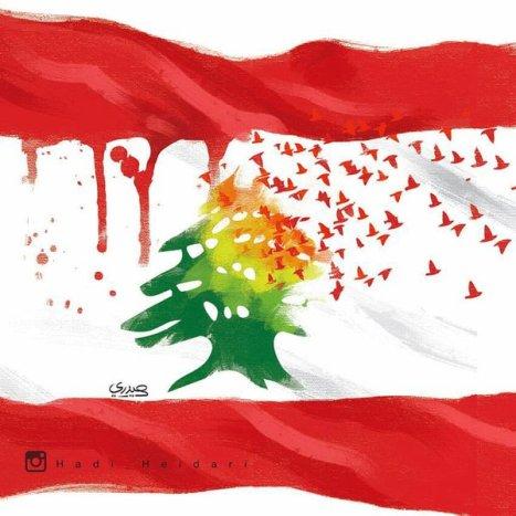 Σκίτσο του Ιρανού Hadi Heidari, μετά τις σφαγές στη Βυρητό και το Παρίσι