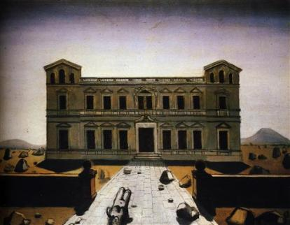 Paul Delvaux - Ruined palace