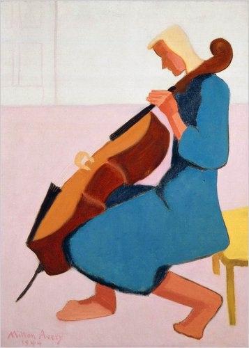 "Milton Avery, ""Η τσελίστρια"" (1944)"