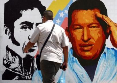 Σε μια γειτονιά του Καράκας, 5.3.2013. Φωτογραφία: Geraldo Caso/AFP/Getty Images