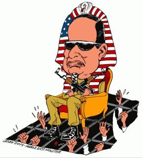 Σκίτσο του Carlos Latuff
