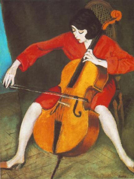 Ρόμπερτ Μπερένυ, «Γυναίκα που παίζει τσέλο», 1928