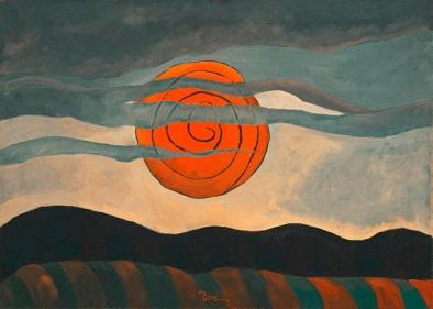 Άρθουρ Ντόουβ, «Κόκκινος ήλιος», 1935