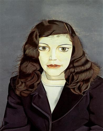 Lucian Freud - Κορίτσι με μαύρο παλτό (1947)