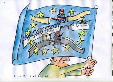Σκίτσο του Jan Tomaschoff