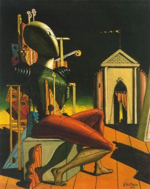 Tζόρτζιο ντε Κίρικο, «Αυτός που προβλέπει», 1916