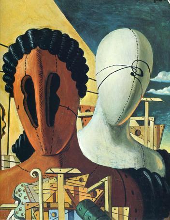 Τζόρτζιο ντε Κίρκο, «Δύο μάσκες», 1926