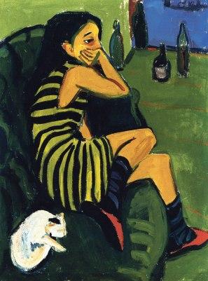 Ερνστ Λούντβιχ Κίρχνερ, «Καλλιτέχνις», 1910