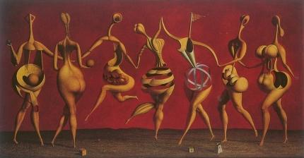 Rudolf Hausner - «Aporisches Ballett»
