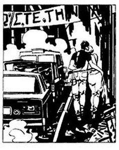 Σκίτσο του Γιάννη Καλαϊτζή από την «Τσιγγάνικη Ορχήστρα»