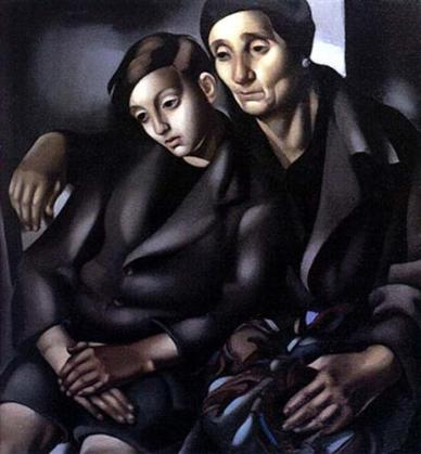 """Tamara de Lempicka """"Οι πρόσφυγες"""" (1937)"""