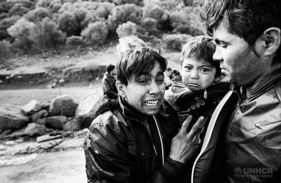 Συκαμνιά Λέσβου, 24.11.2015. Φωτογραφία: Giles Duley/UNHCR