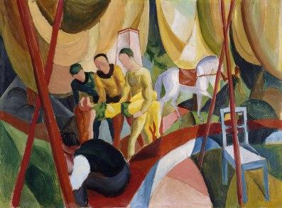 Έργο του Άουγκουστ Μάκε, 1913
