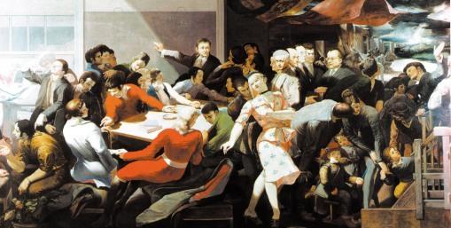 Βέρνερ Τύμπκε, «Εργατική τάξη και ιντελιγκέντσια», 1972-1973