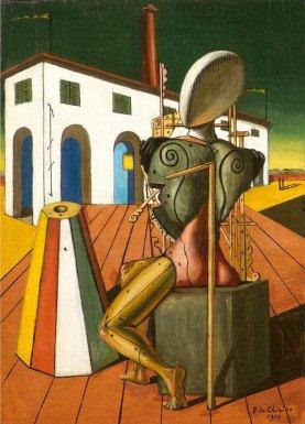 Τζόρτζιο ντε Κίρικο, «Ο τροβαδούρος», 1946