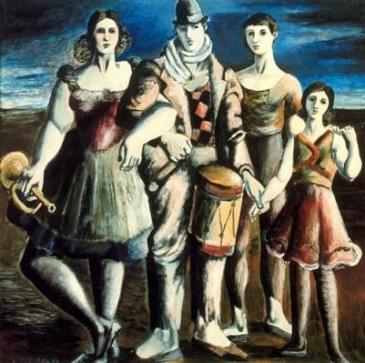 Rafael Zabaleta -Οικογένεια κουκλοπαικτών (1934)