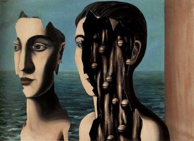 Ρενέ Μαγκρίτ, «Το διπλό μυστικό», 1925