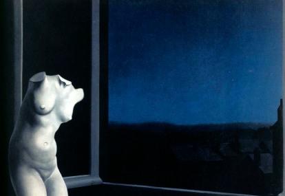 Ρενέ Μαγκρίτ, «Η ωραία της νυκτός», π. 1932