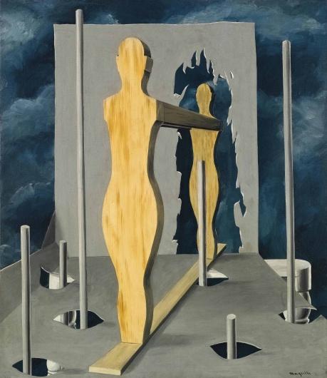 Ρενέ Μαγκρίτ, «Το δωμάτιο του προφήτη», 1926