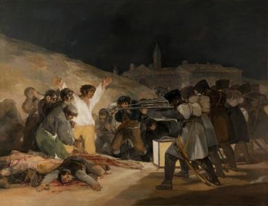 Γκόγια, «Οι εκτελέσεις της 3ης Μαΐου 1808», 1814, Μαδρίτη, Πράδο