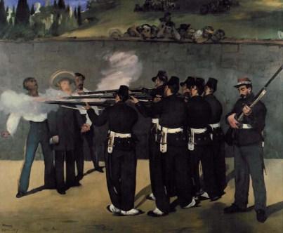 Μανέ, «Η εκτέλεση του Μαξιμιλιανού, 1868-1869», Μάνχαϊμ, Κούνστχαλλε