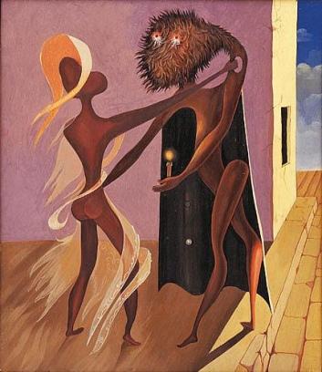 Victor Brauner-Η αρραβωνιαστικιά του Νύχτας (1937)