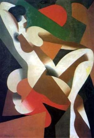 Ρενέ Μαγκρίτ, «Ντόνα», 1921